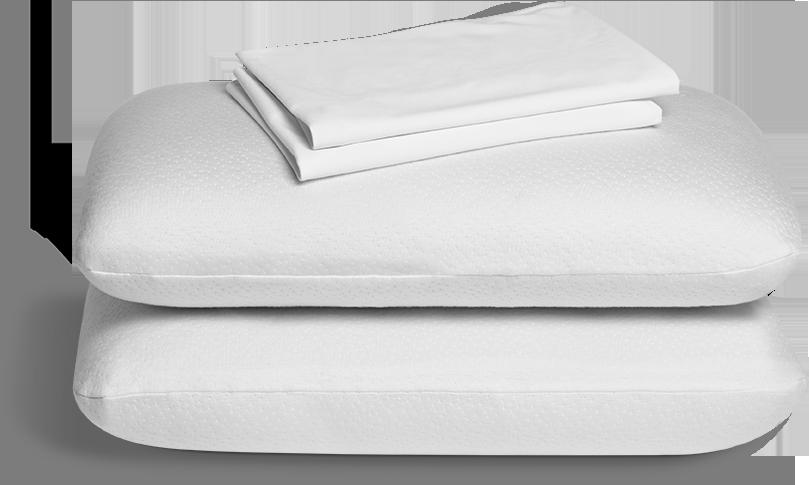 Ces taies d'oreillers sont composées des éléments  suivants